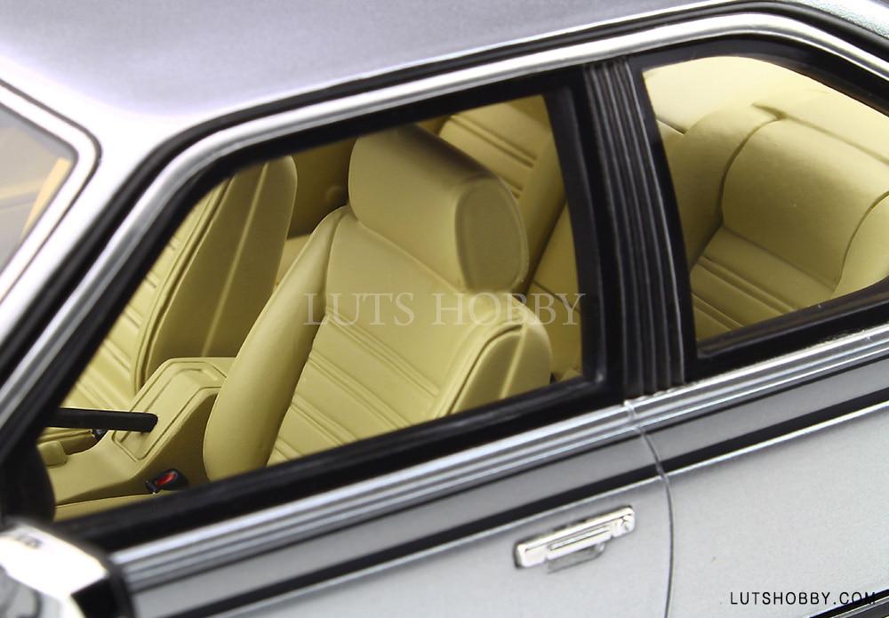 BMW e24 635 CSi 1982 polarissilver metallic diecast model car OT313 Otto 1:18